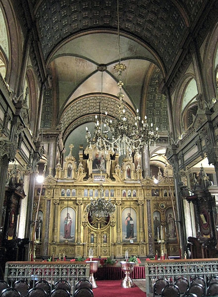 The interior of Sveti Stefan Kilesisi