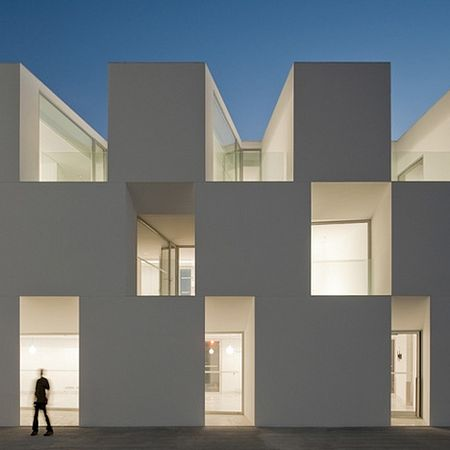 """House for the Elderly"" – in Alcácer do Sal, Portugal (winner of Mies Van der Rohe Prize)"