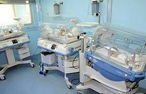 Август 2014года. Медицинская аппаратура, в том числе инкубаторы для донашивания новорожденных, доставленная ИППО в Центральную г.детскую больницу Дамаска