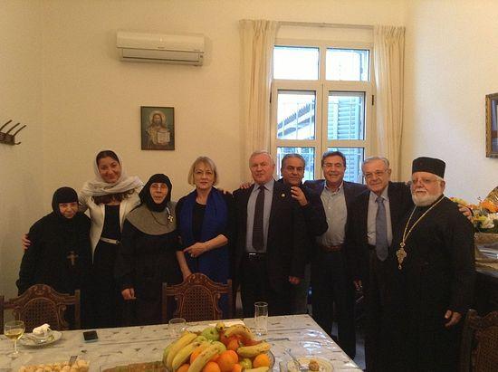 Наши ливанские братья и сестры по вере, октябрь 2014