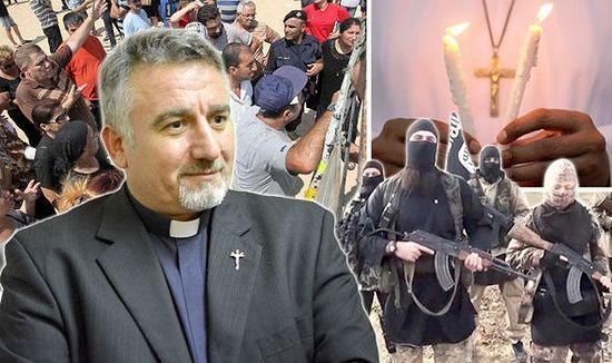 Отец Дуглас Бази рассказал, как христиане бежали из Мосула