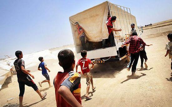 100000 христиане бежали из иракского города Мосул в одну ночь