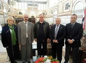 Апрель 2014 год. Дамаск. Мечеть Омейядов