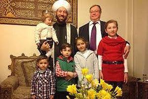 Дамаск. апрель 2014 г.В окружении внуков Верховного муфтия Сирии