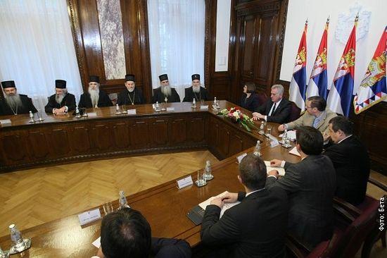 Састанак државног врха у Председништву