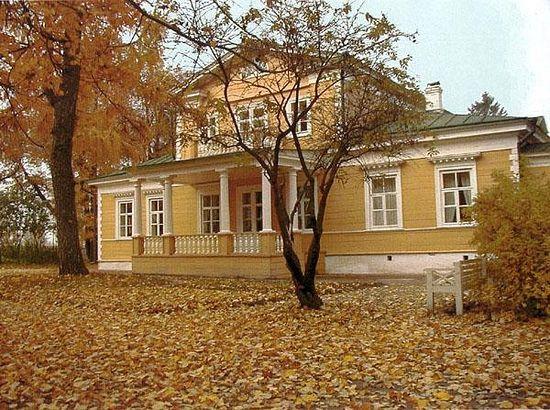 Пушкинская усадьба, Большое Болдино