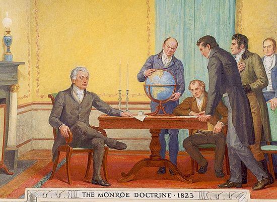 Доктрина Монро. Фреска американского Капитолия