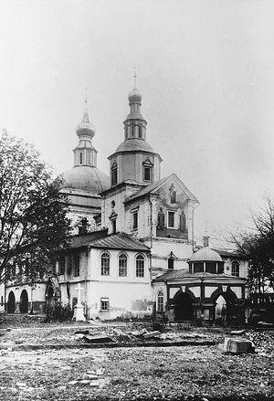 Данилов монастырь. Советские года