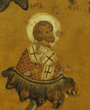 St. Amphilochius the Bishop of Vladimir, in Volhynia