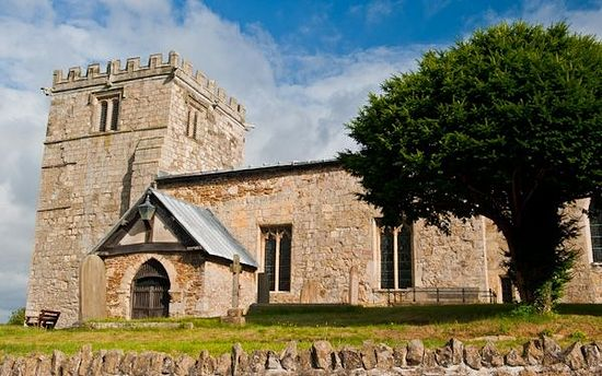 All Hallows Church in Goodmanham, East Riding of Yorkshire (photo from Britain Express)