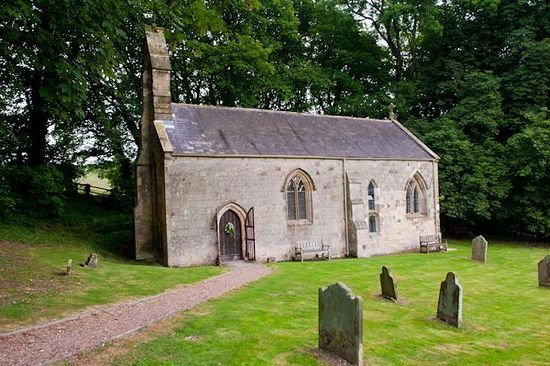 Church of St. Ethelburgh in Great Givendale, East Riding of Yorkshire