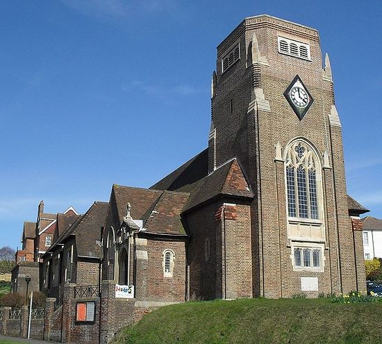 Church of St. Ethelburgh in St. Leonards-on-Sea, East Sussex