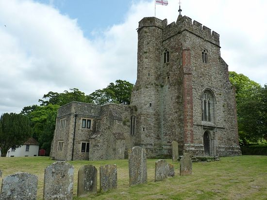 Church of Sts. Mary and Ethelburgh in Lyminge, Kent