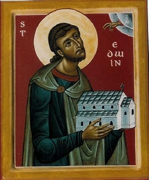 Icon of St. Edwin of Northumbria