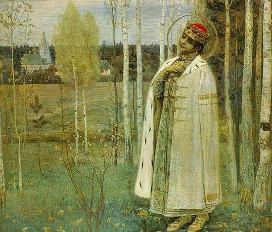 Tsarevich Dimitry by Mikhail Nesterov. (1899) (Public Domain)