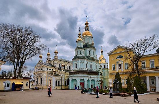 Protection Monastery in Kharkov