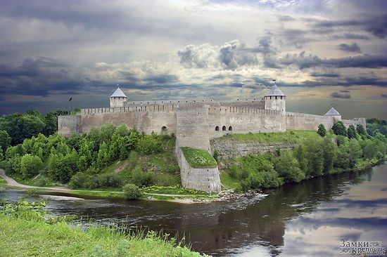 Ивангород. Крепость