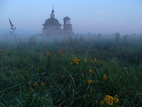 Покровская часовня в Чоково
