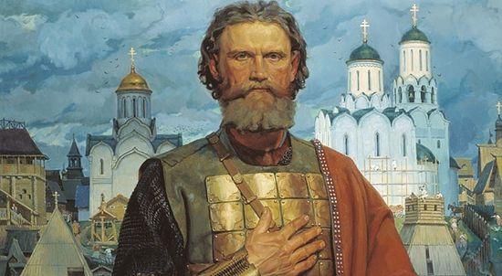 Святой Благоверный Великий московский князь Дмитрий Донской. Виктор Моторин, 2002