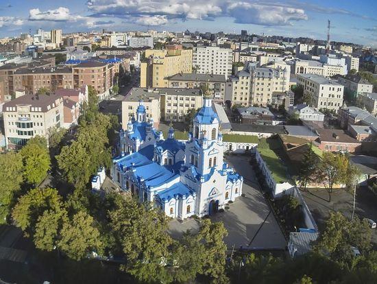 Знаменский кафедральный собор, Тюмень. Фото: Thinkstock