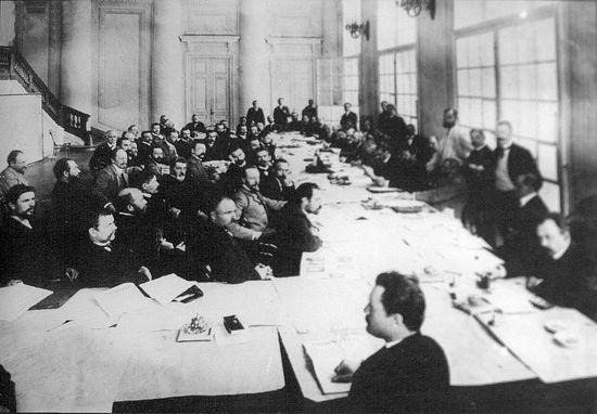 Заседание аграрной комиссии I Государственной Думы, Санкт-Петербург, май 1906 г.