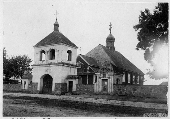 Свято-Николаевский храм, Тимковичи. 1917 г.