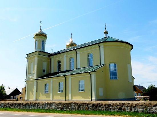Отреставрированный храм честь Рождества святого Иоанна Предтечи, Вишневец