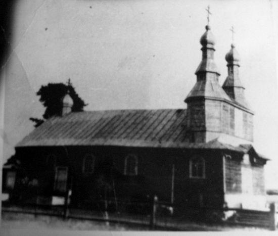 Свято-Покровская церковь, Жуков Борок. XX в.