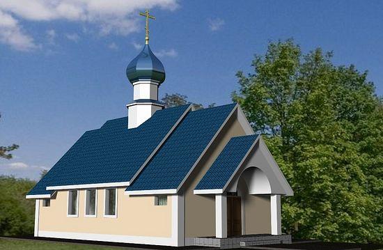 Эскиз аталезского Свято-Покровского храма