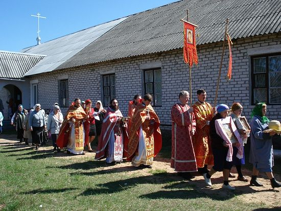 Крестный ход на престольный праздник