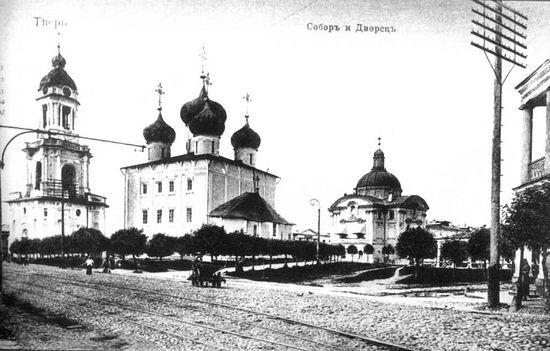 Тверь. Спасо-Преображенский кафедральный собор