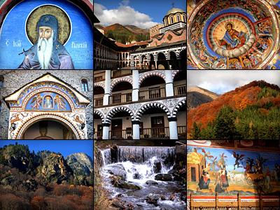 Осенние фотозарисовки из Рыльского монастыря