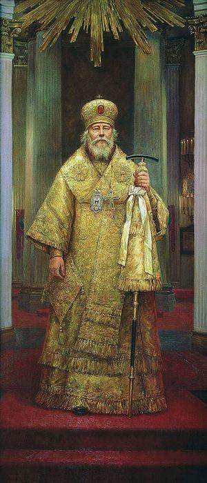 Филипп Москвитин. Митрополит Иоанн (Снычев), Санкт-Петербургский и Ладожский
