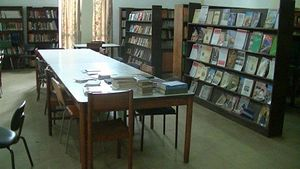 The Library at the Orthodox Patriarchal Ecclesiastical School of Makarios III in Nairobi