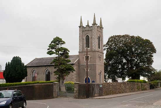 St. Munn's Anglican Church in Taghmon, Wexford (photo by Andreas Borchert)