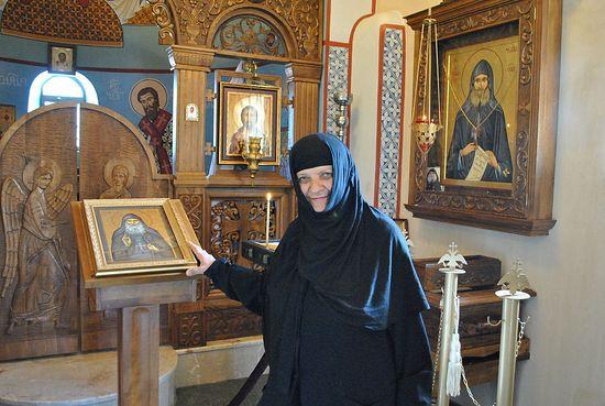 Монахиня Параскева (Ростиашвили), келейница старца Гавриила