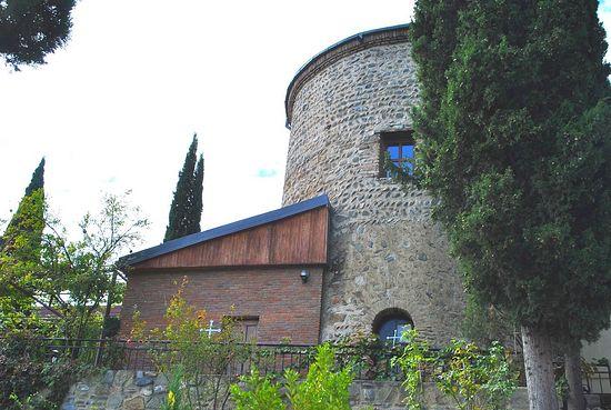 Башня, где жил старец Гавриил
