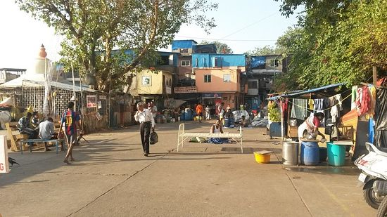 На улице в Мумбае