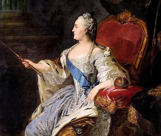 Ф.С.Рокотов. Портрет Катарине II