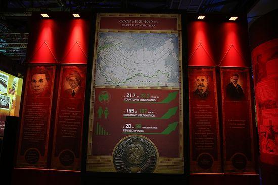 1914–1945. От великих потрясений к Великой Победе. Фрагмент экспозиции
