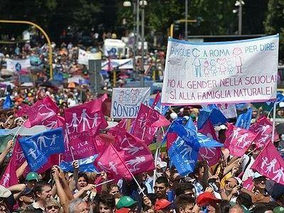 В Италии аннулированы сотни однополых «браков»