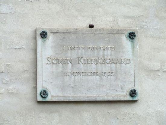 Søren Kierkegaard (d. 1855) lived in Bredgade 70 just a few blocks away from church