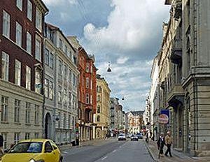 A contemporary view of Bredgade St.