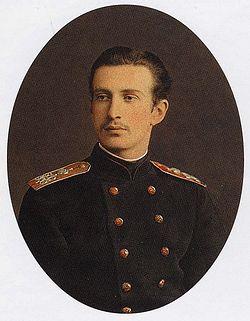 Великий князь Николай Константинович Романов, дед Натальи