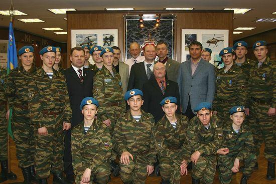 «Голубые береты» (СПб) в Музее Управления «А» Центра специального назначения ФСБ России