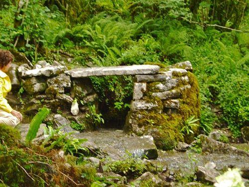 Источник святого Колмана на месте его отшельнической жизни в Буррене, Клэр