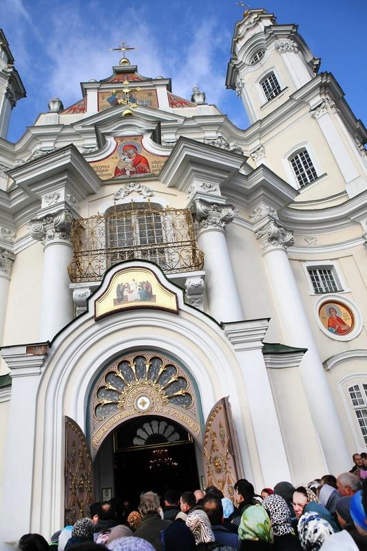 """220138.b Всемирното Православие - ЛИТИЙНО ШЕСТВИЕ В ПОЧАЕВСКАТА ЛАВРА: """"ВСИЧКИ СТАНАХА СВИДЕТЕЛИ НА ЧУДО"""""""