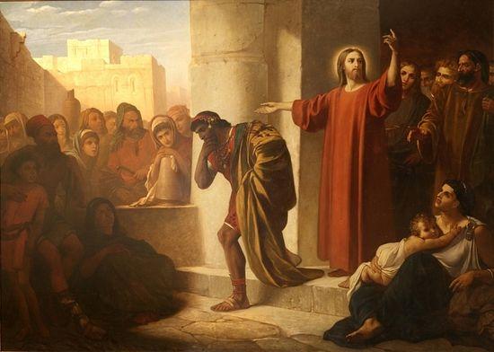 Ф.Чумаков. Христос и богатый юноша