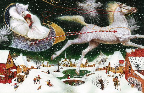 Снежная королева. Иллюстратор: В.Ерко