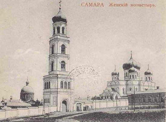 Иверский женский монастырь. Открытка начала XX века